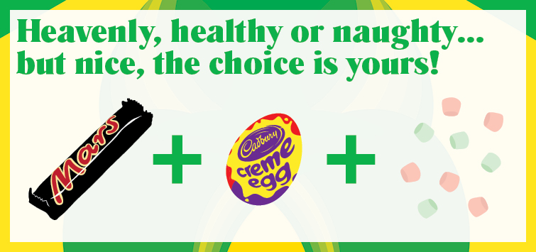 Heavenly, healthy or naughty… but nice, the choice is yours!